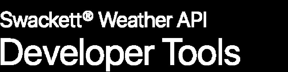 Swackett® Weather API